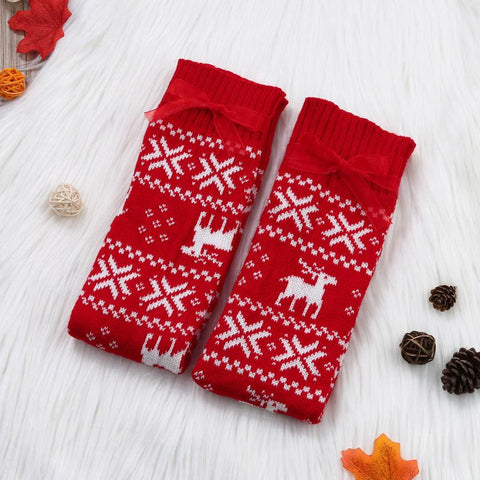 Nordic Winter Print Leg Warmers - F. W. Woolworth Co. Online Store
