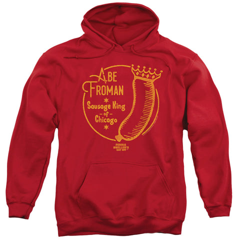 Ferris Bueller - Abe Froman Adult Pull Over Hoodie - F. W. Woolworth Co. Online Store