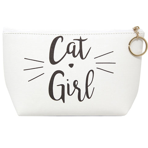 Cat Girl Cosmetics Pouch