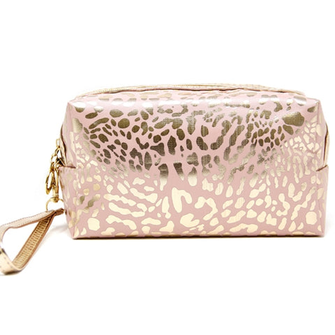 Animal Print Makeup Pouch