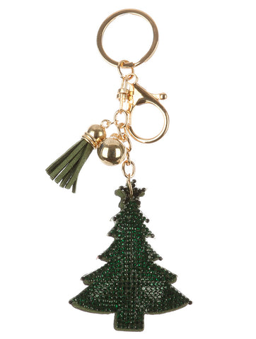 Christmas Tree Bag Charm
