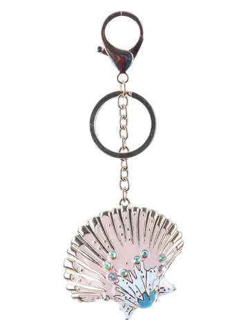 Seashell Keychain / Bag Charm - F. W. Woolworth Co. Online Store
