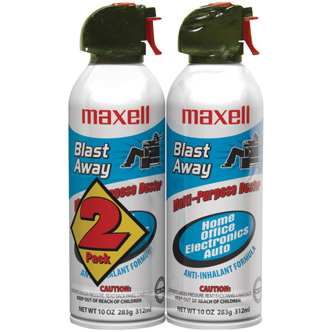 Maxell Blast Away Canned Air (2 Pk)