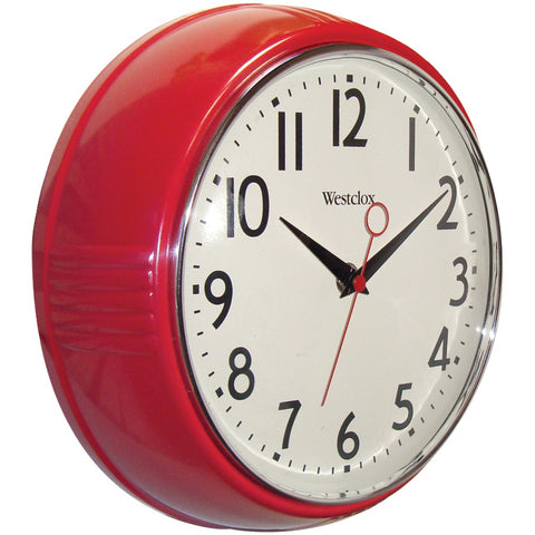 "Westclox 9.5"" Retro 1950s Kitchen Wall Clock - F. W. Woolworth Co. Online Store"