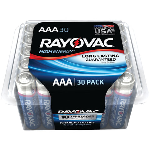 Rayovac Alkaline Batteries Reclosable Pro Pack (aaa; 30 Pk) - F. W. Woolworth Co. Online Store