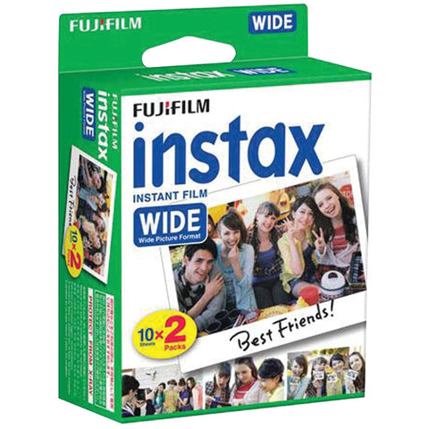 Fujifilm Instax Wide Film Twin Pack - F. W. Woolworth Co. Online Store