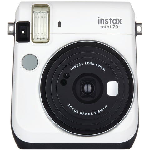 Fujifilm Instax Mini 70 Instant Camera (white) - F. W. Woolworth Co. Online Store