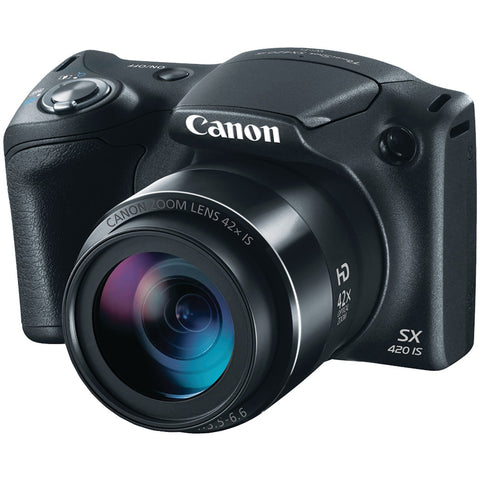 Canon 20.0-megapixel Powershot Sx420 Is Digital Camera (black)