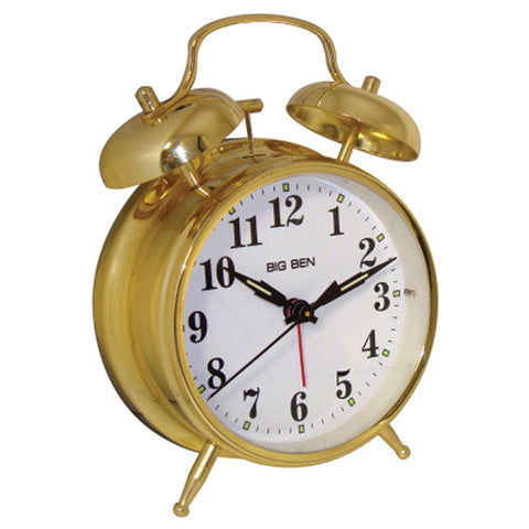 Westclox Metal Twin Bell Alarm Clock - F. W. Woolworth Co. Online Store