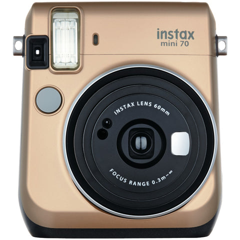 Fujifilm Instax Mini 70 Instant Camera (stardust Gold) - F. W. Woolworth Co. Online Store