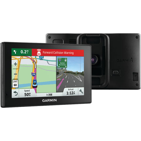 "Garmin Driveassist 50lmt 5"" Gps Navigator With Built-in Dash Cam, Bluetooth & Free Lifetime Maps & Traffic Updates - F. W. Woolworth Co. Online Store"