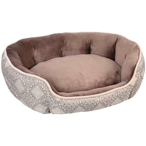 Wild Olive Oval Pet Bed (brown)