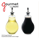 Starfrit Gourmet Oil & Vinegar Bottle Set - F. W. Woolworth Co. Online Store