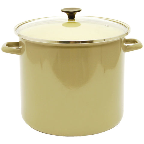 Starfrit 16-quart Enamel Carbon Steel Stock Pot With Lid - F. W. Woolworth Co. Online Store