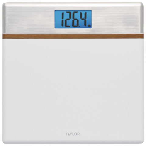 Taylor Precision Products High Gloss Digital Scale With Glass Core