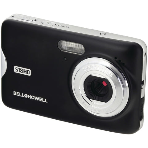 Bell+howell S18hd 18-megapixel Hd Digital Camera (black) - F. W. Woolworth Co. Online Store