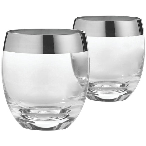 Wine Enthusiast Madison Avenue Whiskey Glasses, Set Of 2 - F. W. Woolworth Co. Online Store