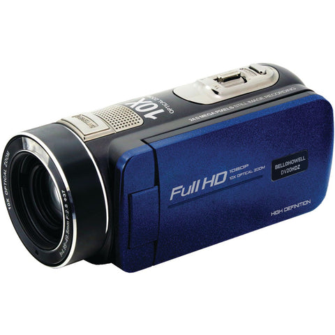 Bell+howell 20.0-megapixel 1080p Ultra-zoom Camcorder (blue) - F. W. Woolworth Co. Online Store