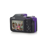 Minolta 20.0-megapixel 1080p Full HD Wi-fi Mn35z Bridge Camera With 35x Zoom (purple) - F. W. Woolworth Co. Online Store