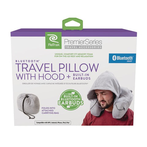 Retrak Bluetooth Travel Pillow - F. W. Woolworth Co. Online Store