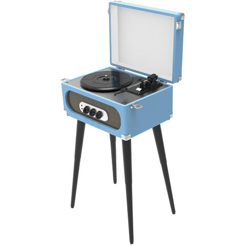 Sylvania Bluetooth Retro Turntable With Stand & FM Radio - F. W. Woolworth Co. Online Store