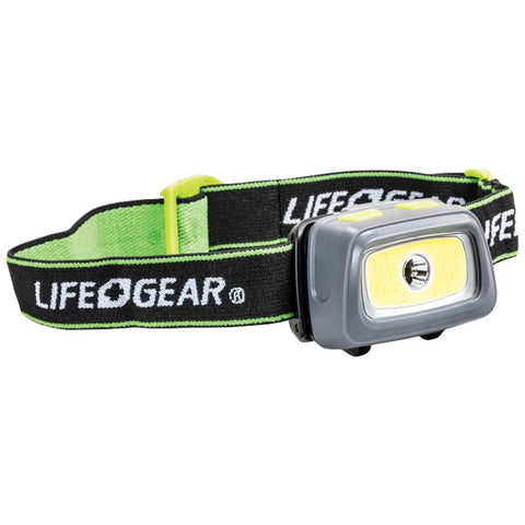 Life+gear 330-lumen Spot & Flood Cob Headlamp - F. W. Woolworth Co. Online Store