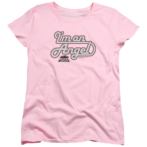 Charlies Angels - I'm An Angel Short Sleeve Women's Tee - F. W. Woolworth Co. Online Store