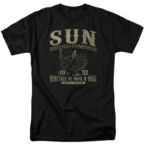 Sun Records - Rockabilly Bird Short Sleeve Adult 18/1 - F. W. Woolworth Co. Online Store