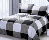 Buffalo Plaid Duvet Cover & Pillowcase Set - F. W. Woolworth Co. Online Store
