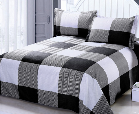 Buffalo Plaid Duvet Cover & Pillowcase Set