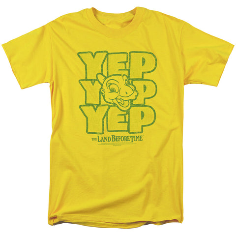 Land Before Time - Yep Yep Yep Short Sleeve Adult 18/1 - F. W. Woolworth Co. Online Store