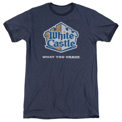White Castle - Distressed Logo Adult Heather