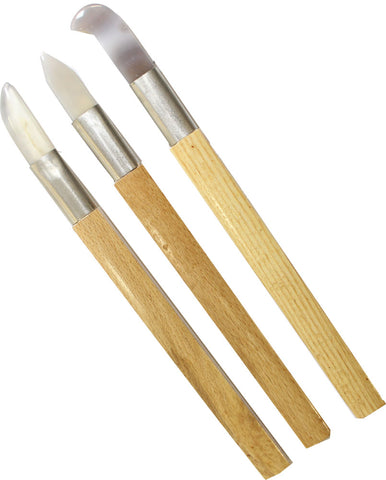 3 Piece 8-1/2 Inch Clay and Wax Carving Tools