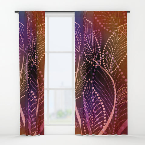 A Colors Warmth Window Curtains