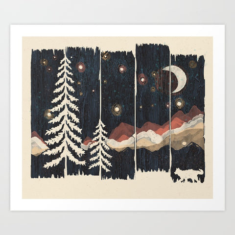 A Starry Night in the Mountains - F. W. Woolworth Co. Online Store