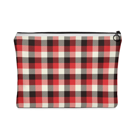 Winter Plaid Everyday Pouch - F. W. Woolworth Co. Online Store