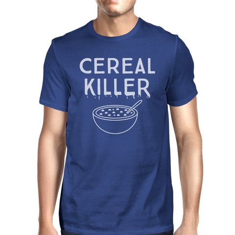 Cereal Killer Mens Royal Blue Shirt - F. W. Woolworth Co. Online Store