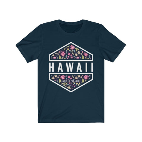 Hawaii Summer Paradise Short Sleeve Tee - F. W. Woolworth Co. Online Store