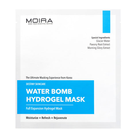 MOIRA Water Bomb Hydrogel Mask