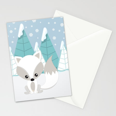 Arctic Landscape Greeting Card 5x7