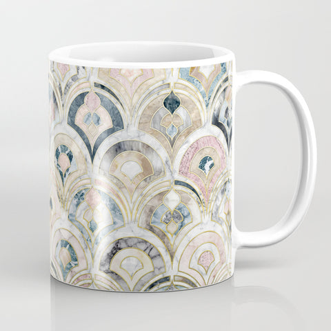 Art Deco Marble Tiles Mug - F. W. Woolworth Co. Online Store