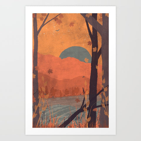 Autumn in the Gorge - F. W. Woolworth Co. Online Store