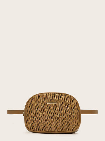 Woven Straw Bum Bag - F. W. Woolworth Co. Online Store