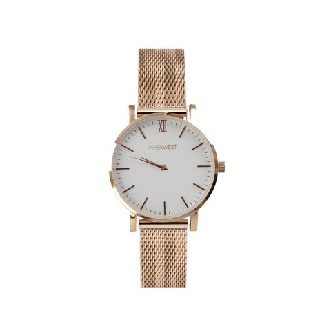 MINI MESH MINIMALIST 32MM ROSE GOLD