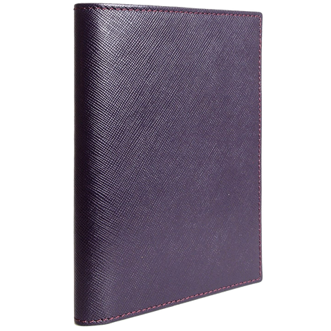 Saffiano Passport Sleeve Bordeaux - F. W. Woolworth Co. Online Store