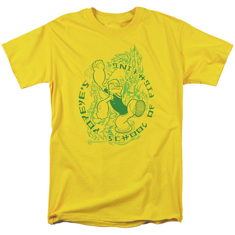 Popeye - Popeye's Fightin' School Short Sleeve Adult 18/1 - F. W. Woolworth Co. Online Store