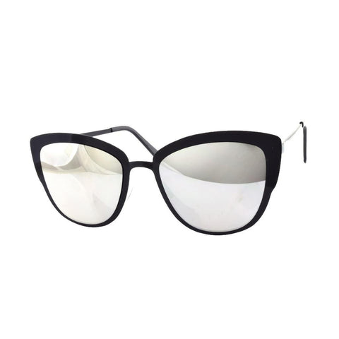 Black Metal Mirror Sunglasses - F. W. Woolworth Co. Online Store