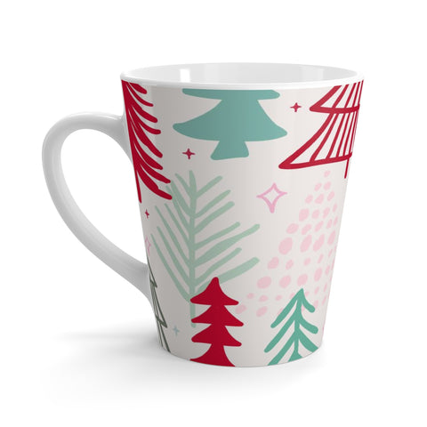 Holiday Forest Latte mug