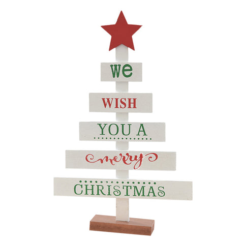 Wooden Christmas Tree Sign - F. W. Woolworth Co. Online Store