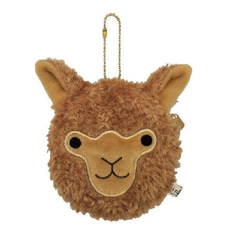 Cute Alpaca Face Coin Purse